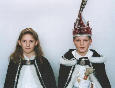 1995 - Jeugdprins Bart II & Jeugdprinses Inge