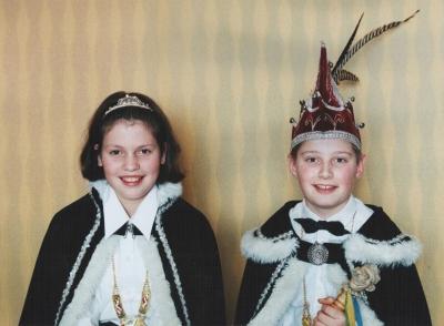 1999 - Jeugdprins Vincent I & Jeugdprinses Vera